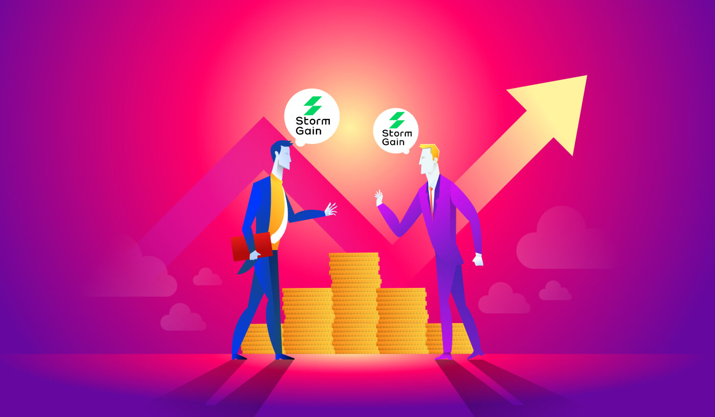 How to join Affiliate Program and become a Partner in StormGain