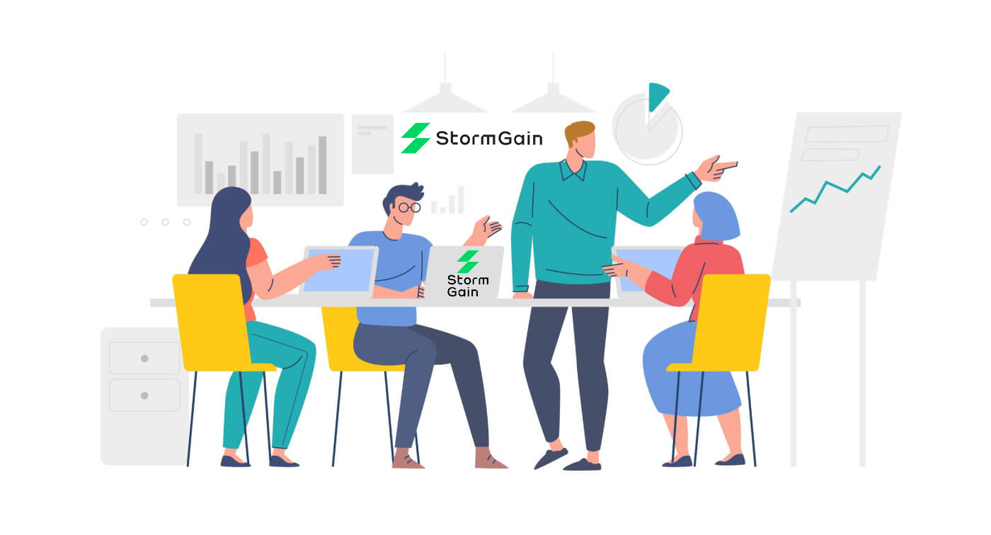 How to Register and Trade Crypto at StormGain