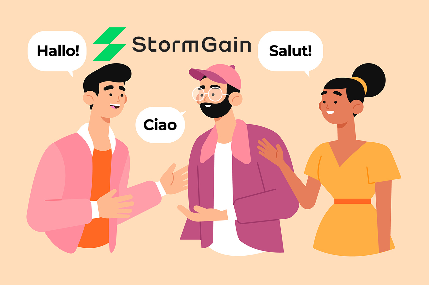 StormGain Multilingual Support