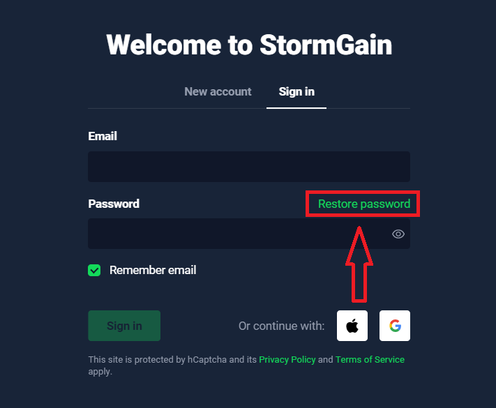How to Login and start Trading Crypto at StormGain